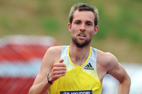 Sindre Buraas ble nummer 13 i finalen på 5000 m.