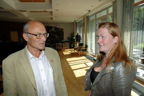Litt stusslig oppslutning for partiet til Aksel Hagen og Anne Lise Fredlund, men må skal SV aksjonere