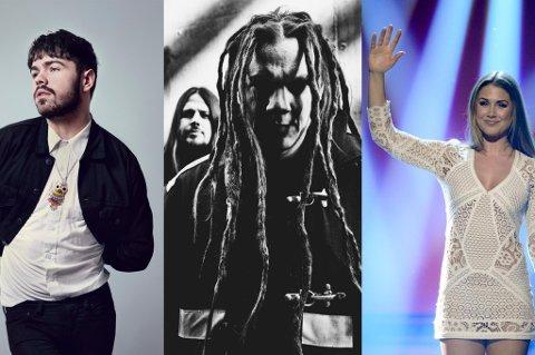 SKVIS: «Det er smått underlig å se dem presset i en sandwich mellom Kid Exodus og Tone Damli», skriver kommentator Egon Holstad om bandet Insense i dagens Døgnvill-program.