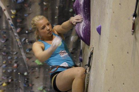 Martine Limstrand under dagens konkurranse.