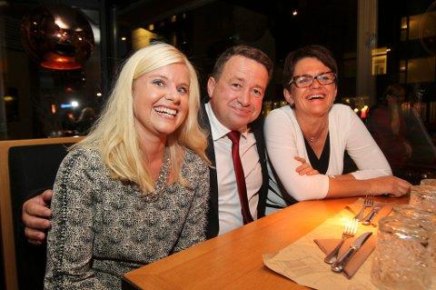 Anna Ljunggren, Kjell Juvik, Lisbeth Berg Hansen fra Arbeiderpartiet.