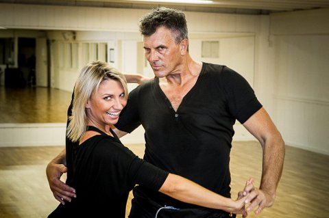 Fetsokningen Jarl Goli grugleder seg til kveldens «Skal vi danse» der han sammen med Alexandra Kakurina skal svinge seg i en paso doble.