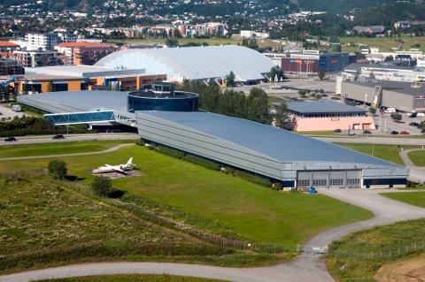 Norsk Luftfartsmuseum vil utvide for 250 millioner ved å etablere prosjektet Isfronten i en fjellhanger på Bodø hovedflystasjon.