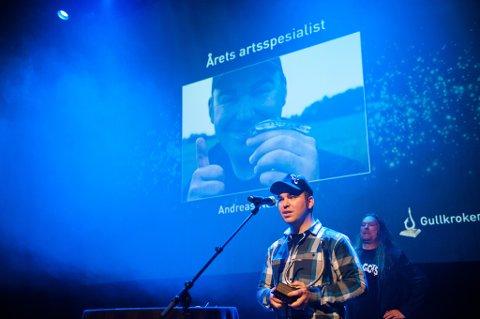 VANT PRIS: Andreas Næristorp (27) fra Strømmen er «Årets artsspesialist».