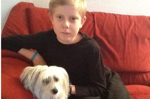 13 ÅR: Marius Hofvind Borgen fra Finstadjordet fyller 13 år 31. oktober.