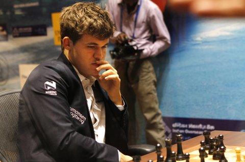 KOMMER TIL TROMSØ: Sjakkpresident Jøran Aulin-Jansson lover at Magnus Carlsen blir en del av det norske laget under sjakk-OL.