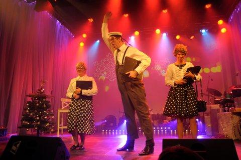 O jul med din glede: Marie Risan, Eivind Lien og Anne Sem-Jacobsen er korsangere uten solist