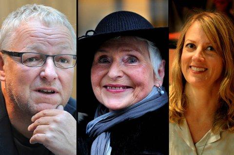 Roy Jacobsen, Herbjørg Wassmo og Helene Uri har alle skrevet bøker som passer under juletreet.
