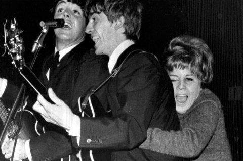 50 ÅR SIDEN: Den 26. oktober 1963 holdt The Beatles to konserter i Kungliga Tennishallen i Stockholm. Dagen før hadde de spilt i Karlstad. Nærmere Norge kom de aldri. foto: AP Photo/File