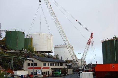 OPPRYDDING: Miljødirektoratet krever at Esso Norge rydder opp etter seg før de bygger nytt.