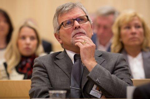Håvard Kyvik Gulliksen, gruppeleder for Høyres fylkestingsgruppe.