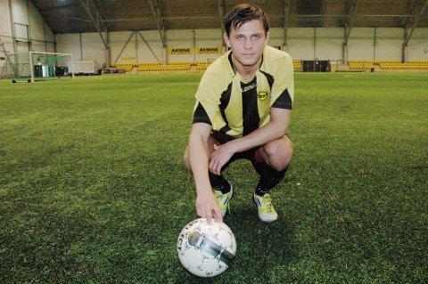 Joakim Holmedahl fikk Høland og Setskog Sparebanks Idrettsstipend.