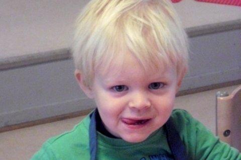 BURSDAG: Barnehagen gratulerer Endre med dagen.
