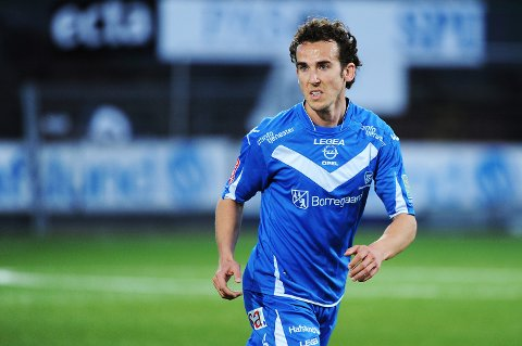 Alvaro Baigorri er klar for spill i Moss FK. (Foto: Mats Duan)