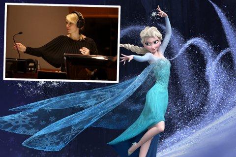 INTERNASJONAL SUKSESS: Christine Hals (32) opplever stor suksess i Hollywood og preger lydbildet til Disneys nye storfilm Frozen med både hennes stemme og komposisjoner.