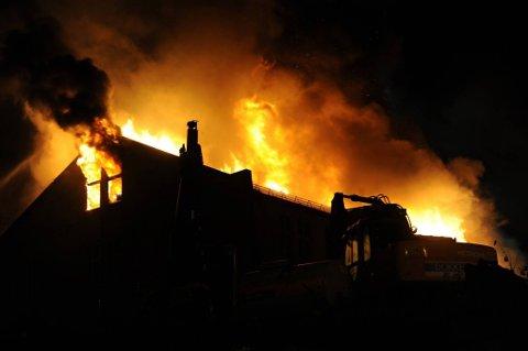 61 personer mistet livet i branner her i landet i 2013.