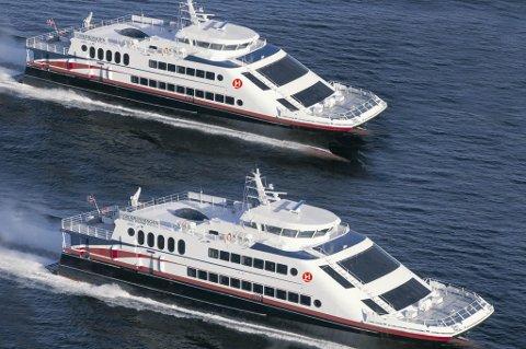 MS Fjordkongen og MS Fjordronningen selges til Korea.