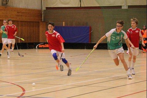Narvik Malmers spilte flere kamper under Gøteborg Open i innebandy.