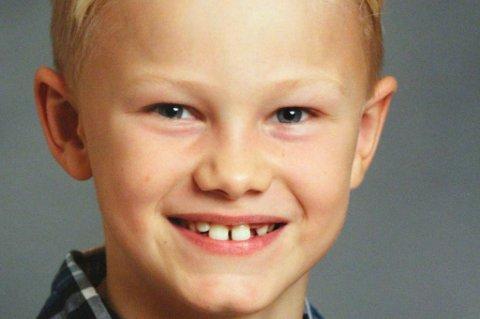BURSDAGSBARN: Thomas Haugum fra Fjellhamar fyller 9 år i dag, onsdag 8. januar.