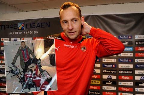 """SIGNERTE NY KONTRAKT: Svenske Benny Lekström har forlenget kontrakten med TIL, men fikk en noe uvanlig """"sign on-fee"""""""