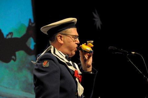 Donald Duck: Svein Nørve som solist i Ankan og Hackspetten.