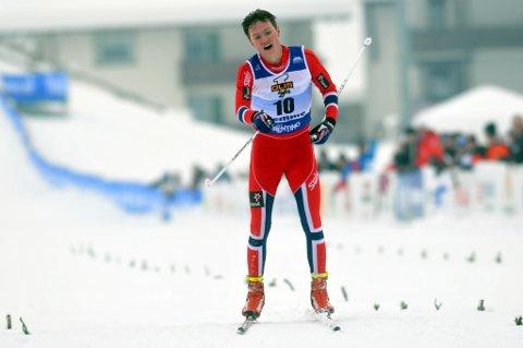 Johan Hoel var meget fornøyd med VM-bronsen.