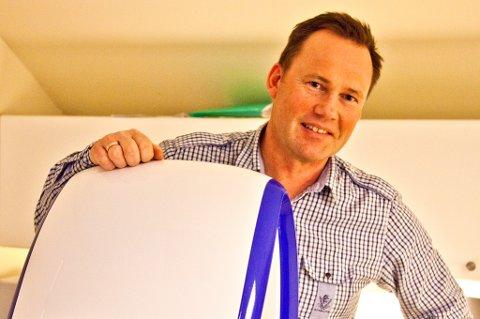 Martin Eidjord og de andre på Interoptik Strauman vant prisen for årets butikk i konkurranse med 68 andre.