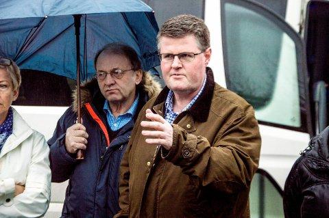 Imot: Rolf Kristian Gjerstad sa i går at Høyre ikke er imot planene på Kaken, men at man ikke realiserer anlegget ved å vedta en plan. foto: Silje Løvstad thjømøe