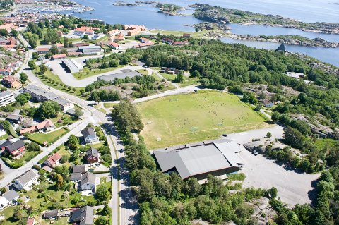 kaken: Området ved Stavernhallen har vært omstridt i mange år. Sportsklubben Stag ønsker å utvide. arkivfoto: Erik berge