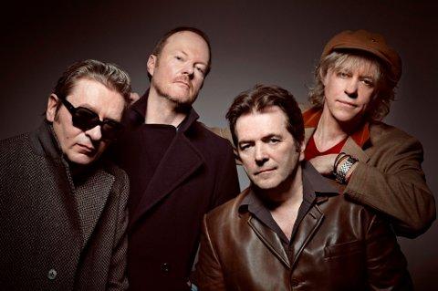 GJENFORENT: Bob Geldof og Boomtown Rats er klare til Festningskonserten i Kongsvinger 21. juni.