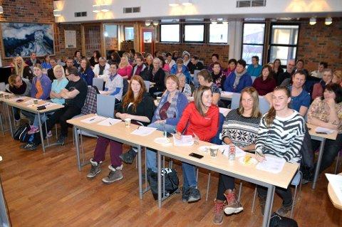ca 70 ansatte i hjemmetjenesten på Vestvågøy på kompetanseheving