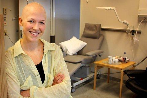 BLE RAMMET: Den svært aktive og godt trente 27-åringen Margrethe Myhre fra Finnsnes fikk livet snudd på hodet 19. februar 2013. Da fikk hun diagnosen kreft.
