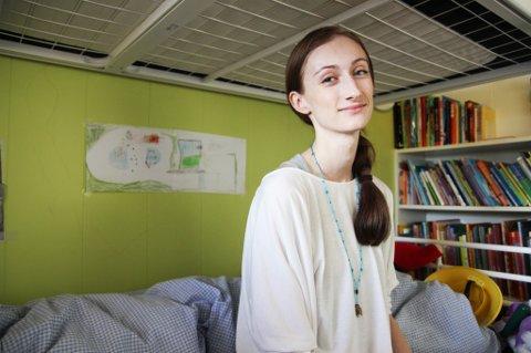 VAR DEPRIMERT: Yvonne Jensen (27) opplevde depresjon etter å ha vært sliten i lang tid.