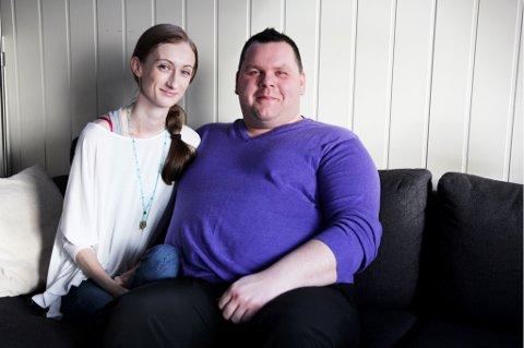 STØTTE: Yvonne Jensens samboer Roy Høgås (37) var bekymret for kjæresten da hun ble deprimert.