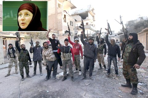 VET IKKE: Sandra Maryam Moe, som er leder for den muslimske menigheten Alnor, sier hun ikke kjenner til at noen muslimer fra Tromsø har tatt veien til Syria.