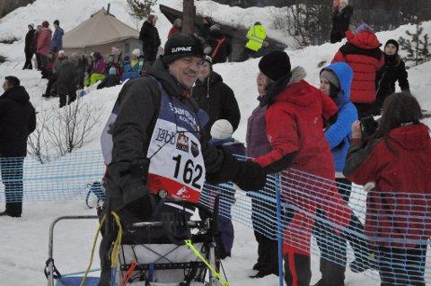 Lars Monsen satser på å hvile seg i tet på 100-mila.