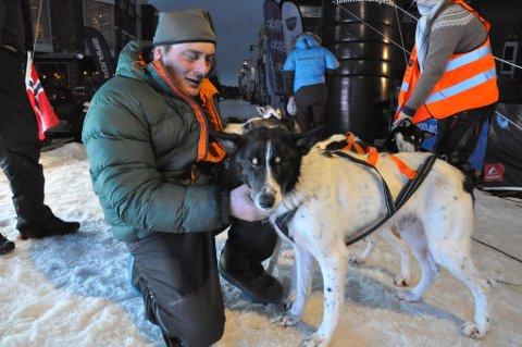Vidar Uglebakken var veldig fornøyd med den jobben hans hunder gjorde gjennom 50-mila.