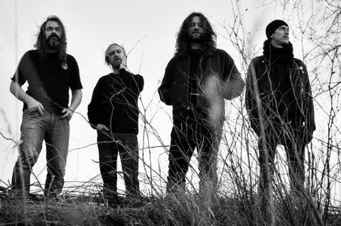 TILBAKE PÅ SPORET: Motorpsycho er for tiden utvidet med den svenske gitaristen Reine Fiske. Det har bidratt til å føre dem tilbake til seg selv.