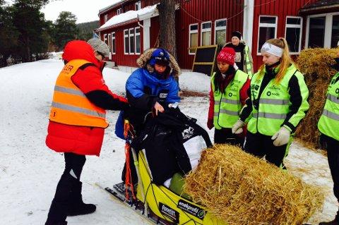 Birgitte Næss Wærner kom inn til Karasjok 09.47, over en time bak Ekran.
