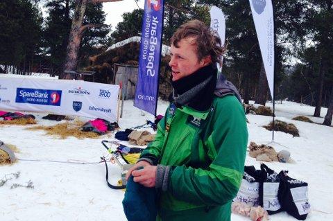 Ronny Frydenlund kom inn som 3. mann klokken 11.13.