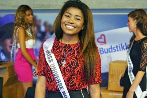 Emma Onokoko (17) er fortsatt med i konkurransen om hvem som skal representere Norge i «Miss Universe»