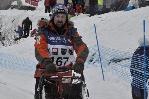 Alta-kjøreren Harald Tunheim kjenner traseen inn mot Alta