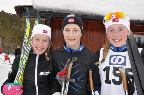 Tormod-trio - Marie Slåen (f.v.), Ole Anton Ringlund og Anna Slåen.