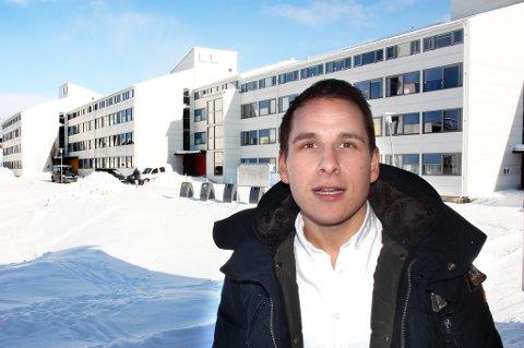 Aleksander Helberg er styreleder i Studentsamskipnaden som nå korter ned botiden i studentboliger fra syv til fem år.
