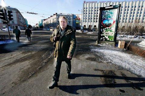 Bjerne Berg er avdelingsleder ved den norsk-russiske skolen i Murmansk.