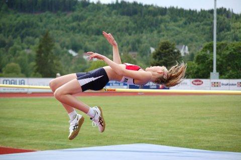 VANT: Guro Bakken Andresen vant sin klasse i høyde med 1,55.