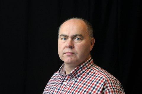 Rune Edøy, sportsjournalist i Tidens Krav.