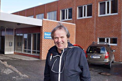 MR. BRAATTHALLEN: Daglig leder Kjell Otto Hoel har planene klare som skal gi pluss i regnskapet.