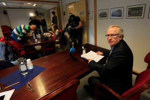 Medisinsk direktør Barthold Vonen ved Nordlandssykehuset.