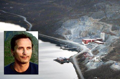 KRITISK: Nussir i Repparfjord, har allerede mottatt statsstøtte, og ønsker at staten skal kjøpe seg inn i selskapet, for å tilføre kapital og legitimitet. Regjeringen har bestemt at gruvedrift skal være et nasjonalt satsingsområde, og følger dermed opp de rødgrønnes plan, skriver Morten Strøksnes.